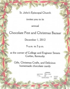 Chocolate Fest Flyer